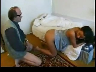Arab sex girl with old man