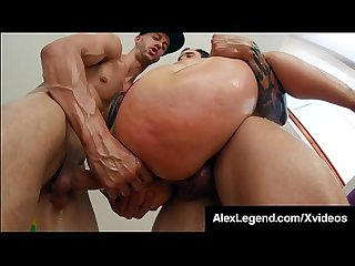 Fallon West Double Vag & Double Anal By Alex Legend & Bro!