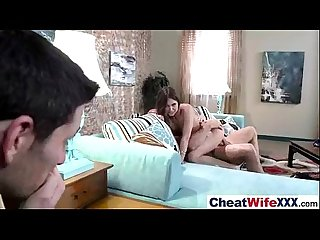 Sex tape story with real slut cheating housewife riley reid vid 24
