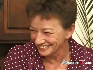 Kinky german grannies group sex perversion