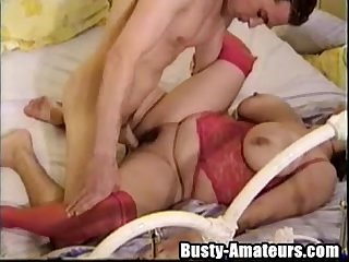 Busty helena getting banged while on lingerie