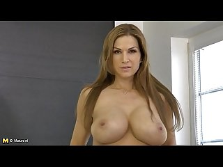 Carol goldnerova big boobs and heels are hot on the solo milf milf porn