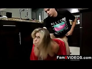 Stepson forced mom in kitchen part 3 free mom tube videos at famxvideos com