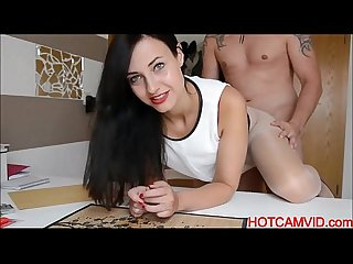Pov brunette amateur fuck hotcamvid com