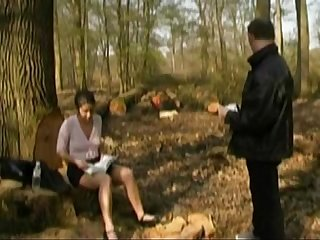 French casting n6 petite brunette teen in a forest 240p more on casting couch ml