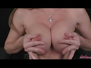 Angela Sommers home alone fingering that pussy