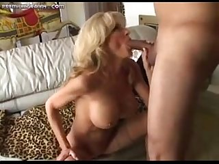 Milf fucks squirts and swallows