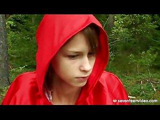 Chapeuzinho vermelho dando gostoso