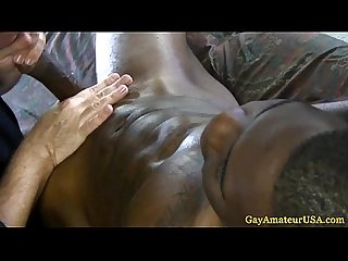 Straight ebony thick jock gay sucked off