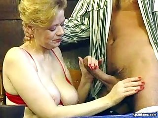 Granny loves big cock