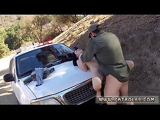 Woman cop arrest Russian amateur takes it like A pro