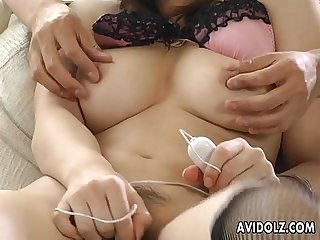 Busty kousaka Anna tittie fuck and blowjob