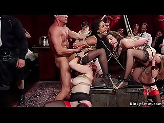 Orgy anal fuck and fist and submission