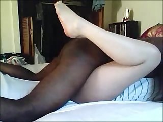 Hot white milf fucked by black guy