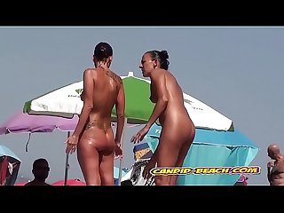 Candid Beach Voyeur Nude Milfs Hidden Cam Video