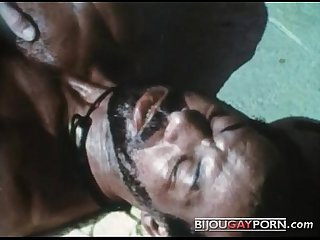 Scene from the first gay black feature mr footlong s encounter 1973