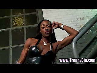 Nasty ebony Ts mistress