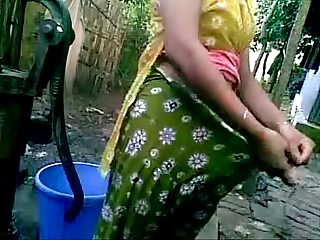 Horny hot indian college young teen girl nude bath in open hot boobs and tender pussy