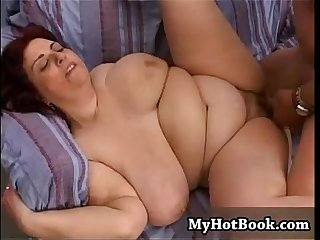 Asia is a bbw who has hooters that are so big she