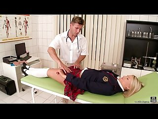 Playing with my doctor S cock Lucy heart