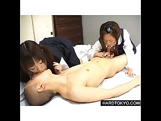 Japaneses schoolgirls dominated