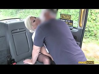 Slutty milf Barbie sins slams a bigcock in the taxi
