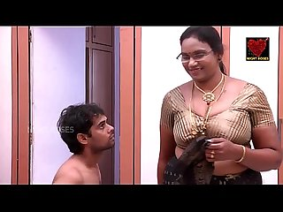 Indian house wife aunty hot romance with teenage boy