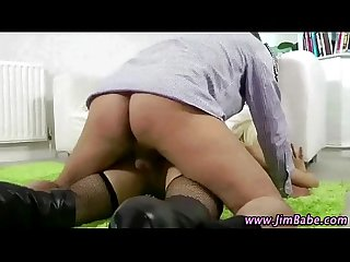 Classy older guy fucks hot younger babe
