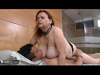 Agedlove bbw granny gloria showing her cunt