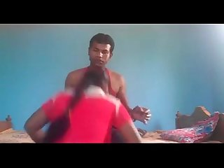 Indian young couple sucking licking cum drinking hot fuck sex act