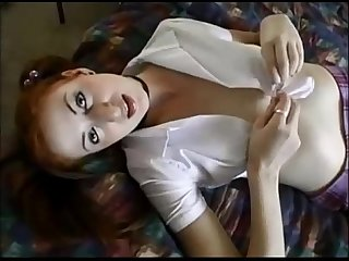 Amateur redhead creampied on real homemade
