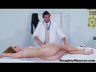 Real masseur pussyfucking blonde