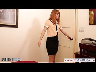 Small jugged claire robbins fuck in the office