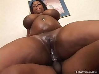 Bbw Crystal Clear getting fucked hard