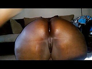Almost caught...Anal pounding Phat Ass BBW