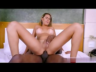 [CanalBlackCat] Shemale loirinha B. dando gostoso para o neg�o