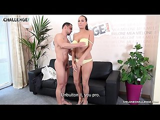 Melonechallenge Action hard horny fuck with Mea Melone end with her orgasm