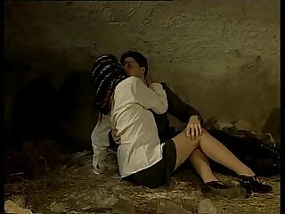 Italian porn vintage colon sex in a cave with a sexy country girl