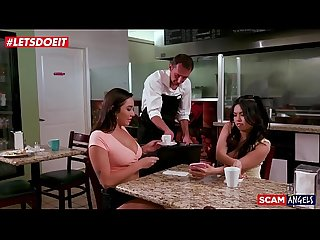 Teen sluts fuck and scam restaurant owner ( Karlee Grey )