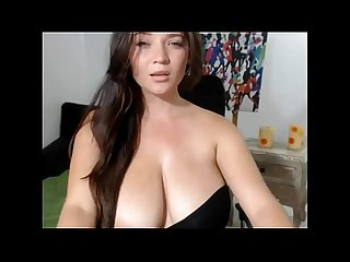 Big tits brunette Teen does Camshow - Dirtyyycams.com