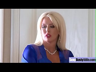 Sex tape with gorgeous Busty Hot housewife alura jenson Video 01