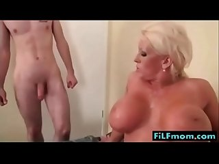 Busty mom wants sons small dick more free family sex videos at filfmom com