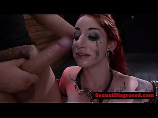 Sheena Rose gets throat slammed