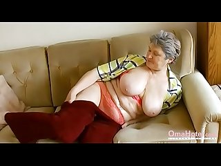 Hairy granny video