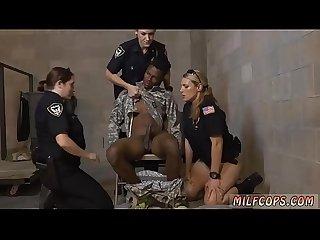 Mature milf threesome Xxx fake soldier gets used as A fuck toy