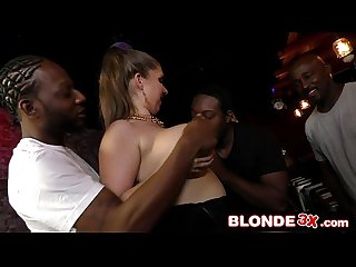 Big Natural Tits Beauty Alex Chance Has Soft Spot for Big Black Dicks