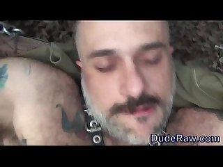 Bear fucked raw in ass