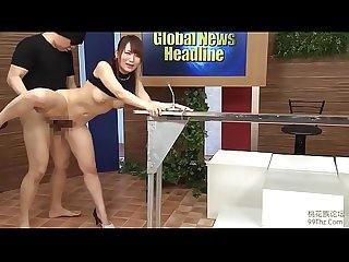 Japanese news reporter fuck mini compilation 1