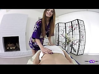 Tmw VR net - Elle Rose- Nedda- JAPANESE STYLE MASSAGE