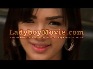 Ladyboy Dream Fucks Herself